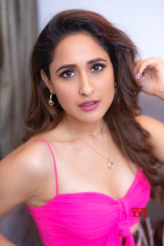 Actress Pragya Jaiswal Latest Stills Looking Pretty In Pink