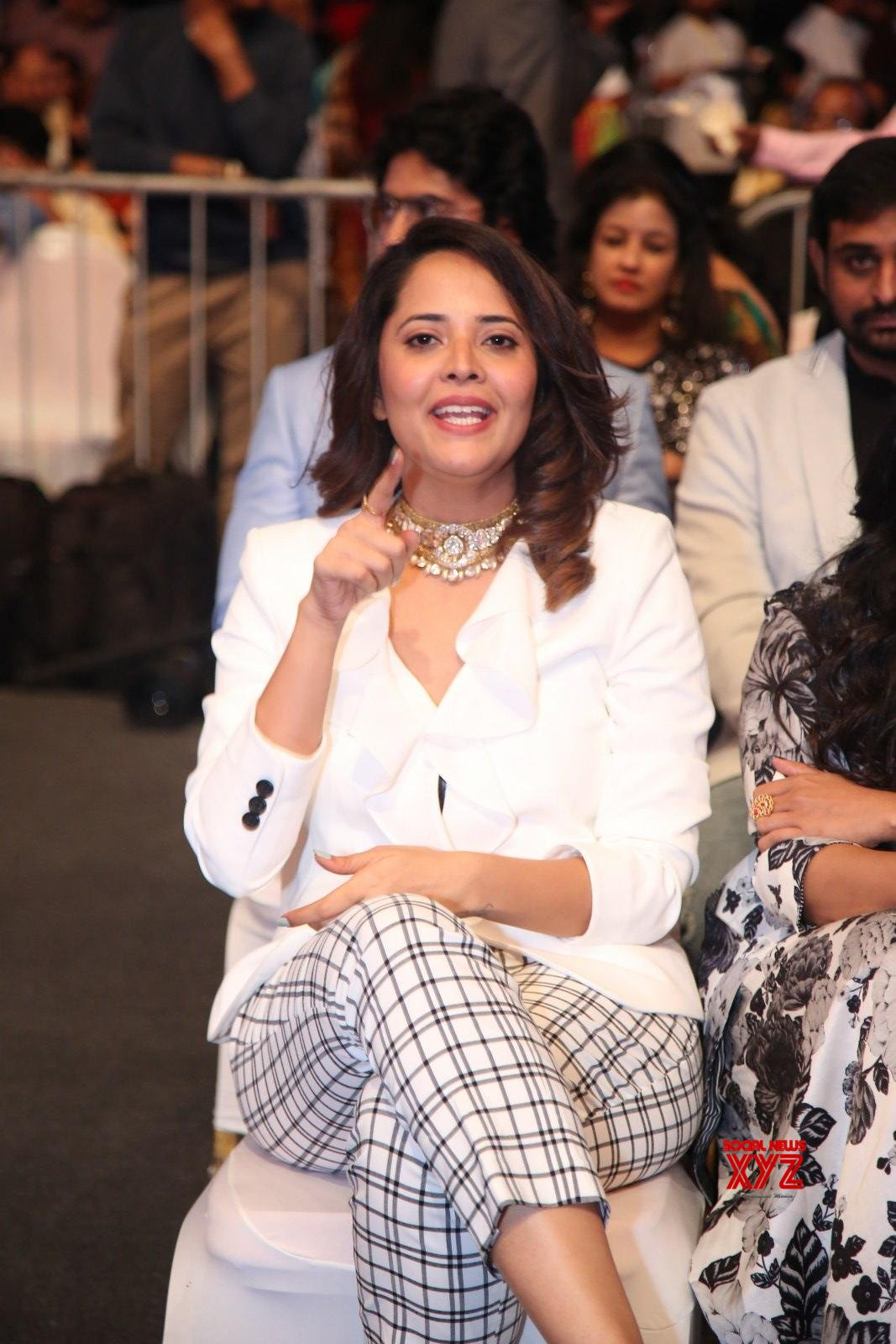 Actress Anasuya Bharadwaj Stills From SIIMA Awards 2019 Red Carpet