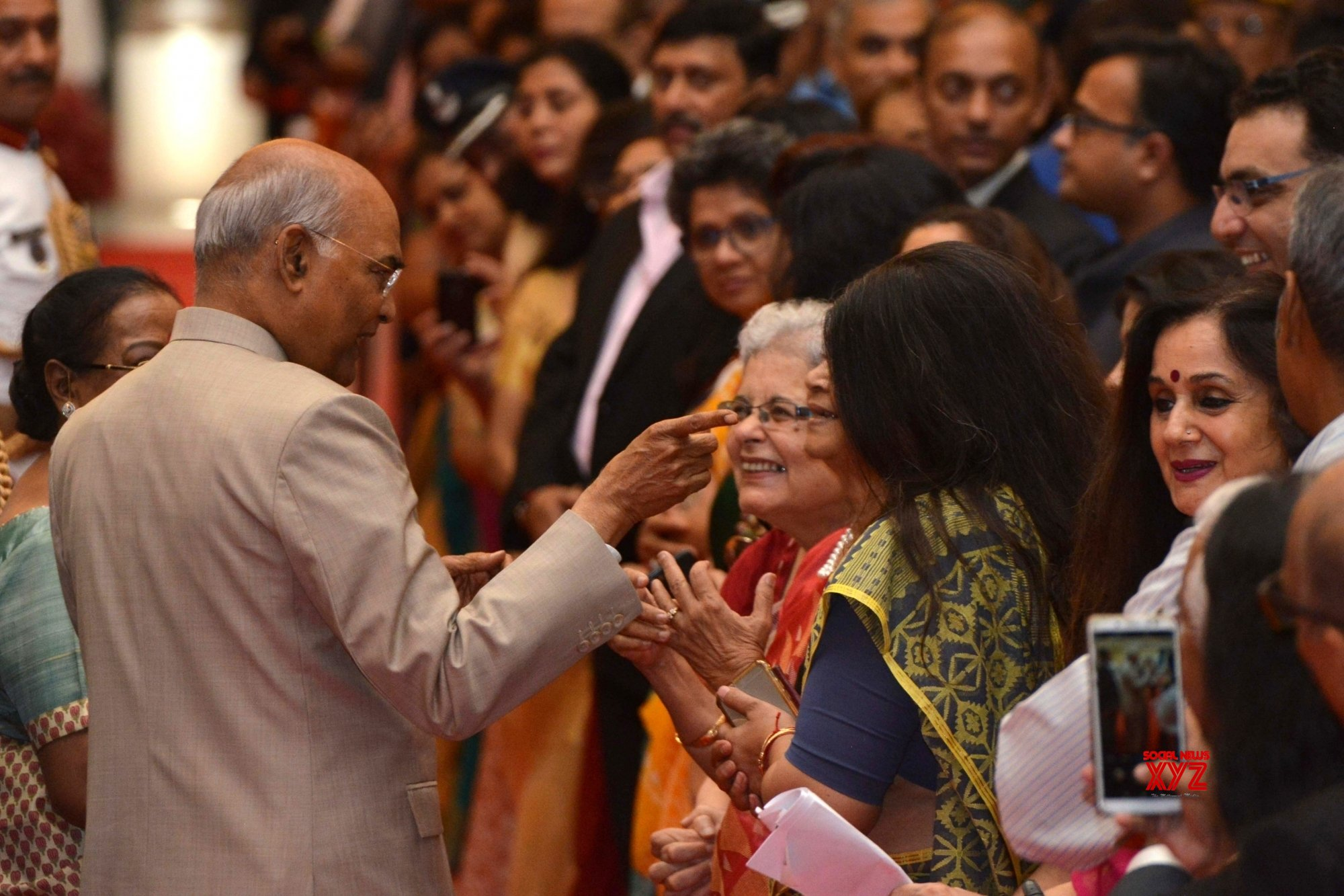 New Delhi: President Kovind hosts 'At Home' on 73rd Independence Day (Batch - 2) #Gallery