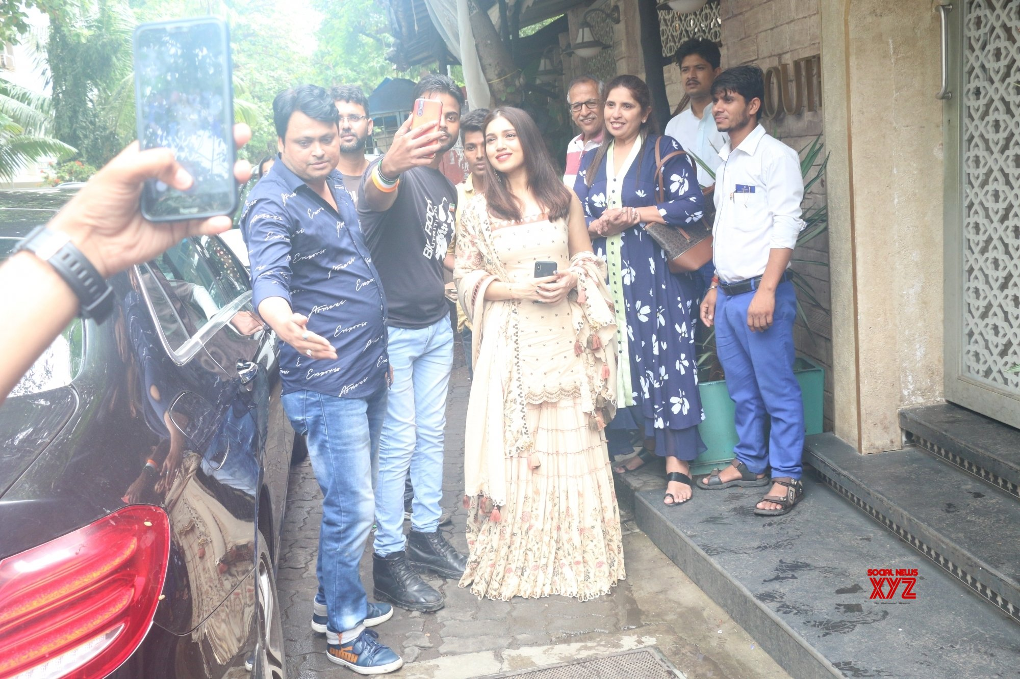Mumbai: Bhumi Pednekar seen at Juhu #Gallery