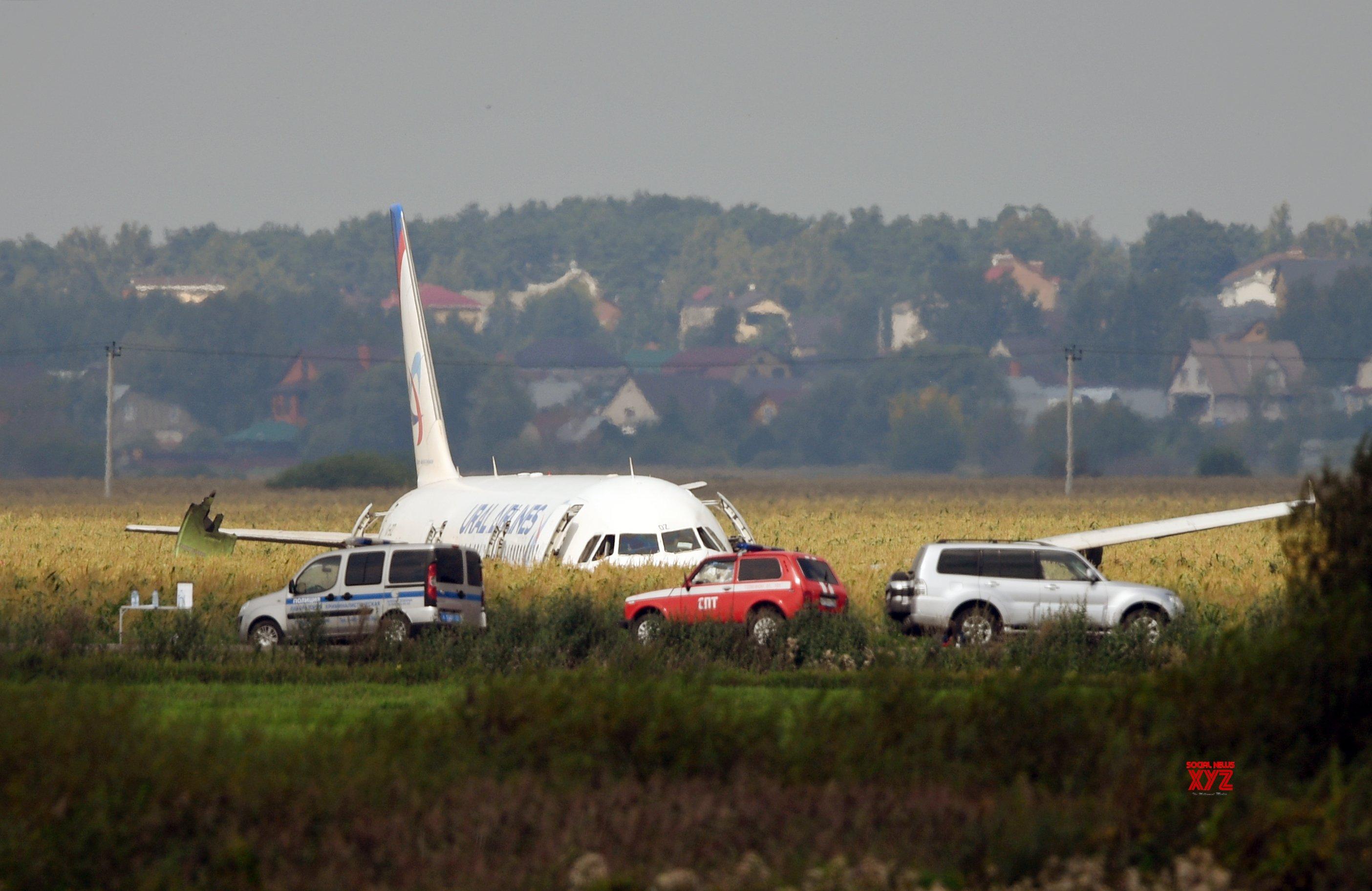 20 hurt as plane makes hard landing in Russia