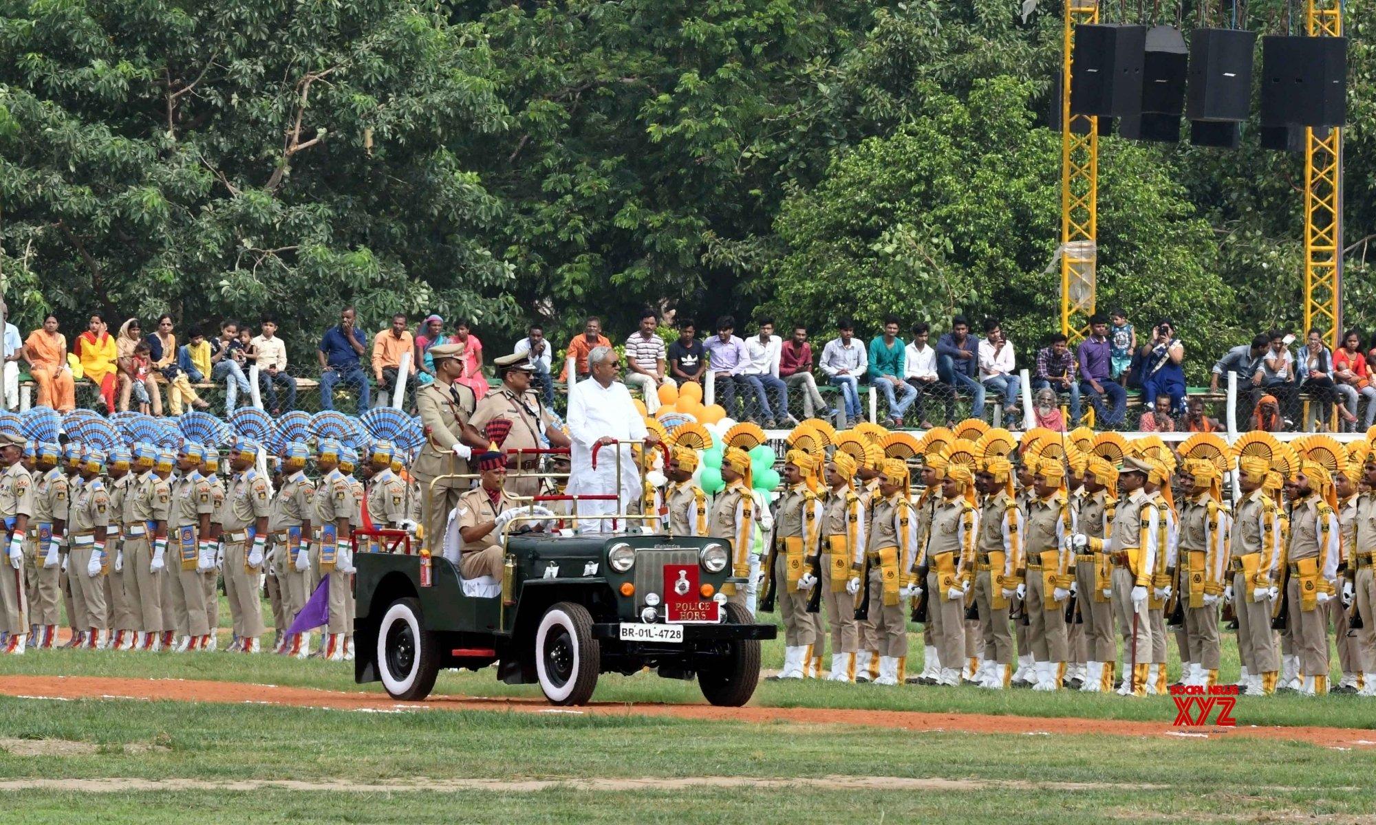 Patna: Independence Day 2019 - Nitish Kumar #Gallery