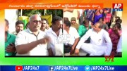 Workers And Conductors Protest Against RTC Depo Manager  [HD] (Video)