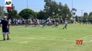 Saints and Chargers get most out of workouts [HD] (Video)