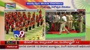 Jagan presents medals to police officers  [HD] (Video)