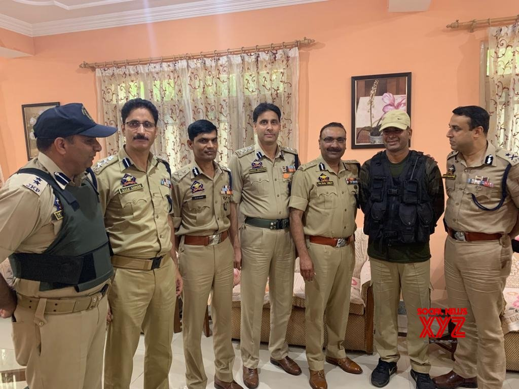 Baramulla: J&K DGP reviews law and order situation in Baramulla #Gallery