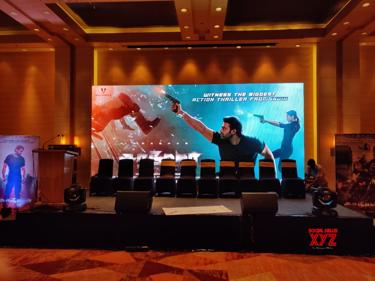 Saaho Media Meet In Chennai Begins At 7PM Today