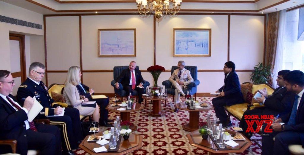 New Delhi: US Deputy Secretary of State meets S. Jaishankar #Gallery