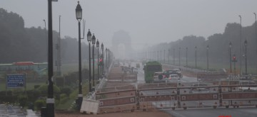 """New Delhi: Delhi hasn't breathed this clean in years. Rainfall in and around brought the capital's air quality on Saturday to the """"good"""" condition, while PM 2.5 levels, recorded at 15 by the US Embassy and 17 by Safar, were the lowest in this year. (Photo: IANS)"""
