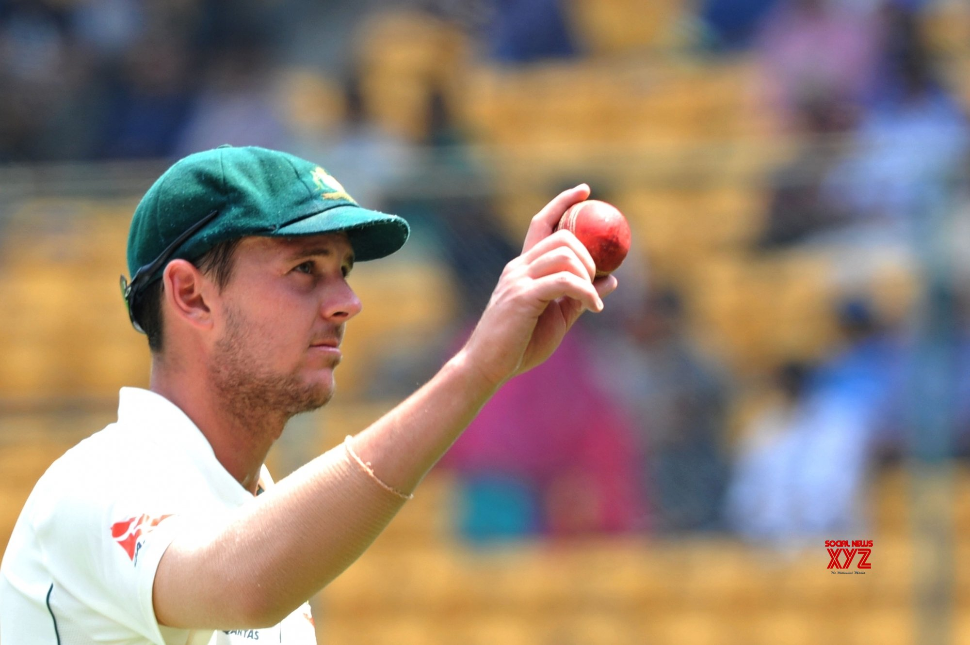 Second nature to give ball little touch up: Hazlewood on saliva ban