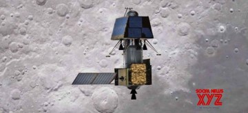 Chennai: India's first moon lander Vikram successfully separated from its mother spacecraft Chandrayaan-2 on Monday at 1.15 a.m., said Indian Space Research Organisation (ISRO). According to ISRO, the Vikram Lander is currently located in an orbit of 119 km x 127 km. The Chandrayaan-2 Orbiter continues to orbit the Moon in its existing orbit. (Photo: IANS)