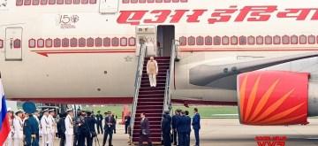 Vladivostok: Prime Minister Narendra Modi arrives at Vladivostok airport in Russia on Sep 4, 2019. (Photo: IANS/MEA)