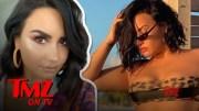 Demi Lovato Posts Unedited Bikini Photo, 'It's CelluLIT!!!!'  [HD] (Video)