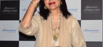 Bengaluru: Actress Zeenat Aman at the launch of first Independent Senior Living Community by Columbia Pacific Communities, in Bengaluru on Sep 10, 2019. (Photo: IANS)