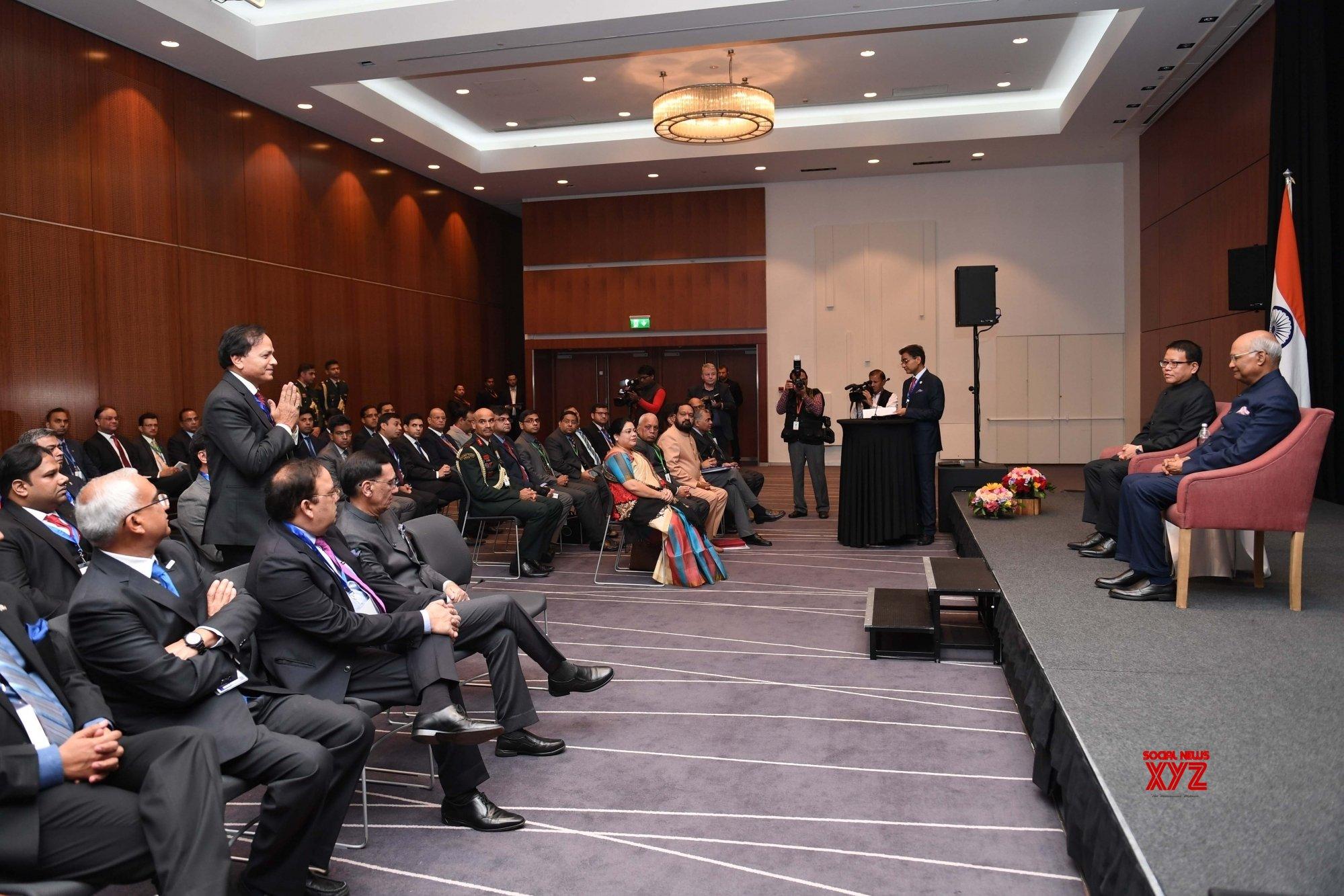 Reykjavik: President Kovind meets Indian Business delegation in Iceland #Gallery