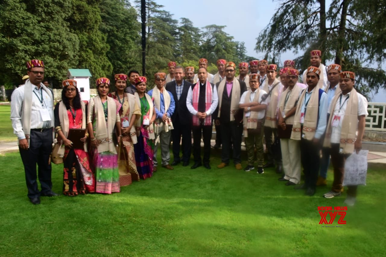 Shimla: Media delegation from Assam meets Himachal CM #Gallery