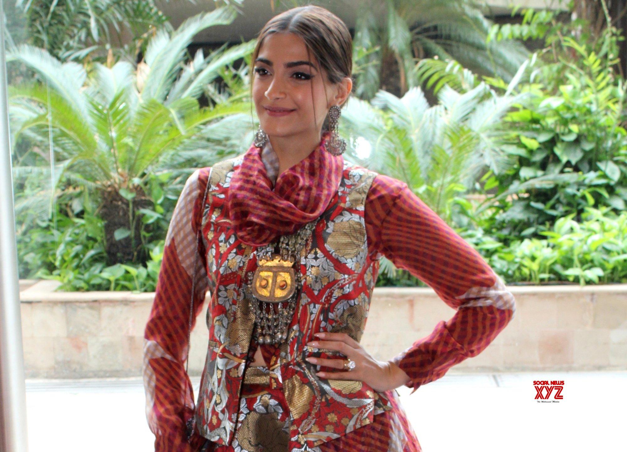 "New Delhi: ""The Zoya Factor"" press conference - Sonam Kapoor, Dulquer Salmaan (Batch - 2) #Gallery"