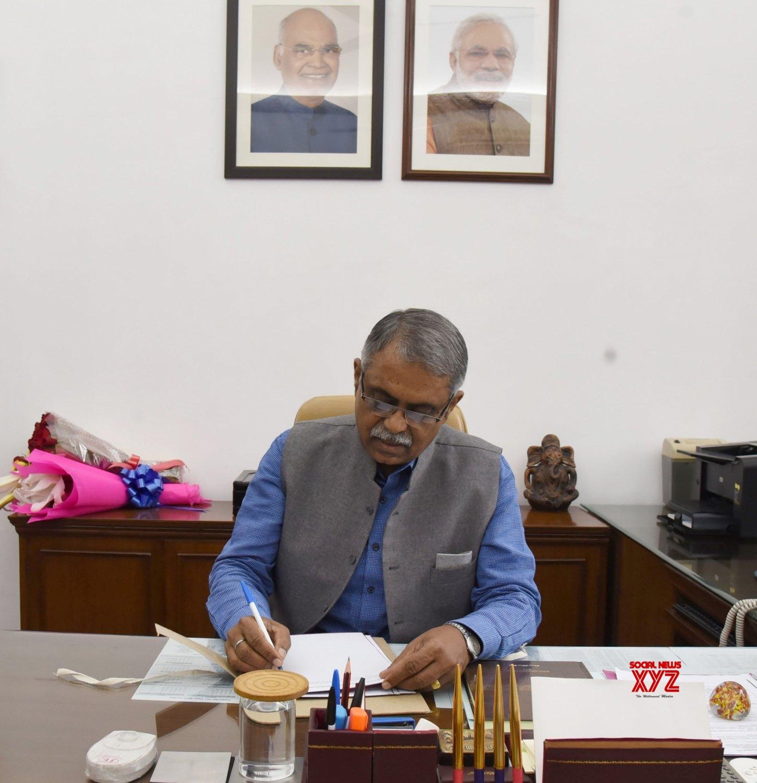 New Delhi: P.K. Sinha takes over as Principal Advisor to PM #Gallery