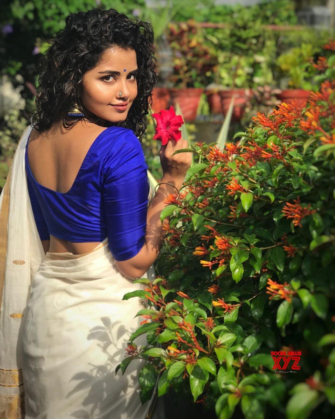 Actress Anupama Parameswaran's Onam Special Traditional Stills