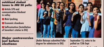 Infographics: Student Union Elections. (IANS Infographics)