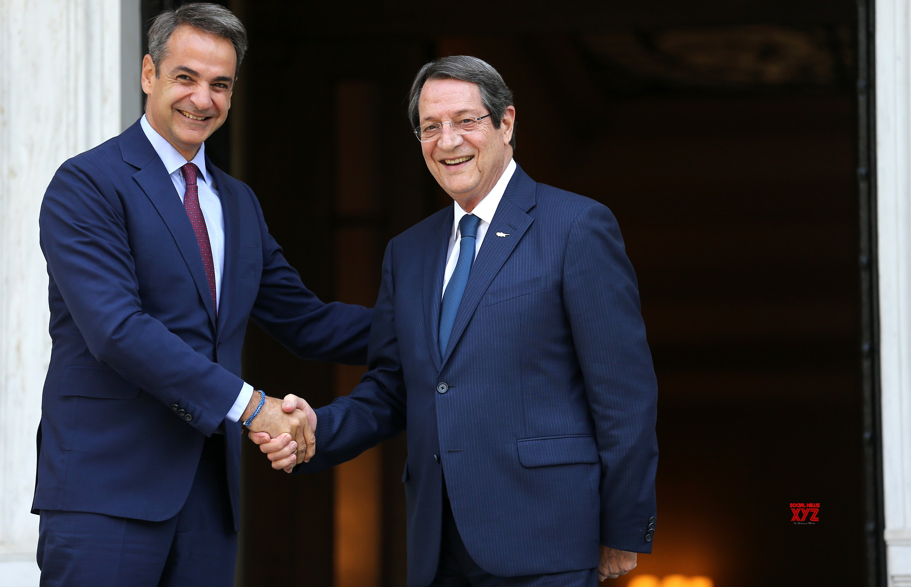 GREECE - ATHENS - PM - CYPRIOT PRESIDENT - MEETING #Gallery