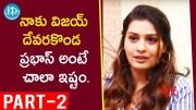 RDX Love Actress Payal Rajput Exclusive Interview Part #2  [HD] (Video)