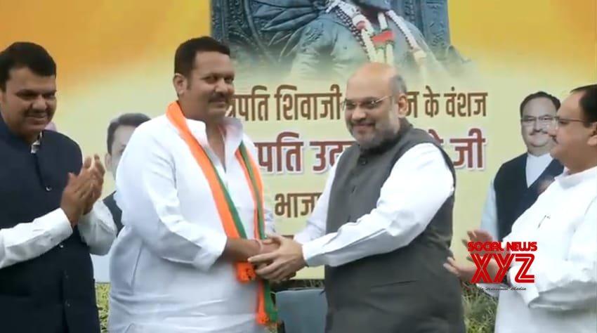 New Delhi: Udayanraje Bhonsle joins BJP #Gallery