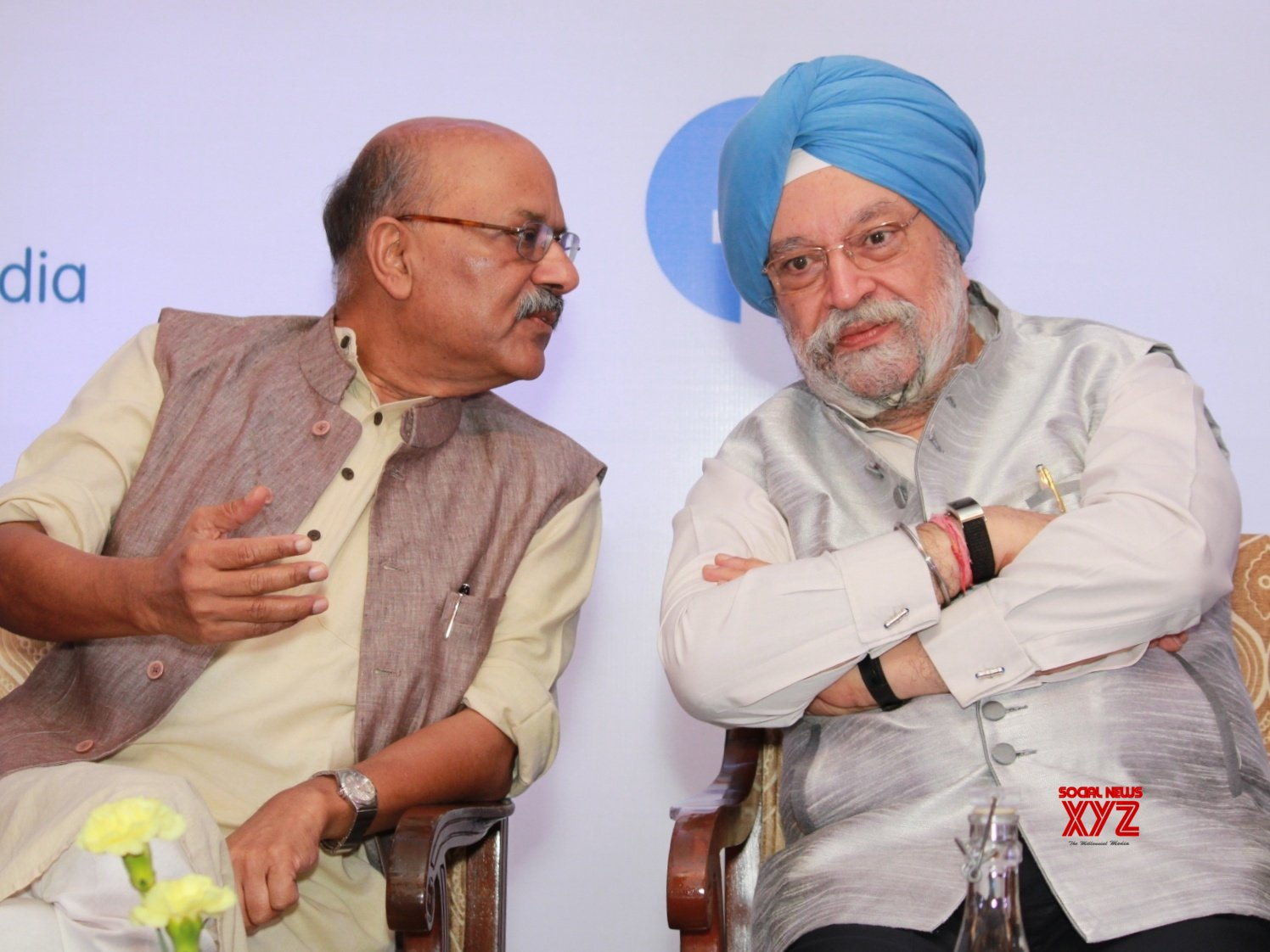 "New Delhi: Hardeep Singh Puri at ""6th National Forum 2019: Developing Partnerships, Engaging Stakeholders"" #Gallery"