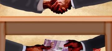 Bribe. (IANS Infographics)