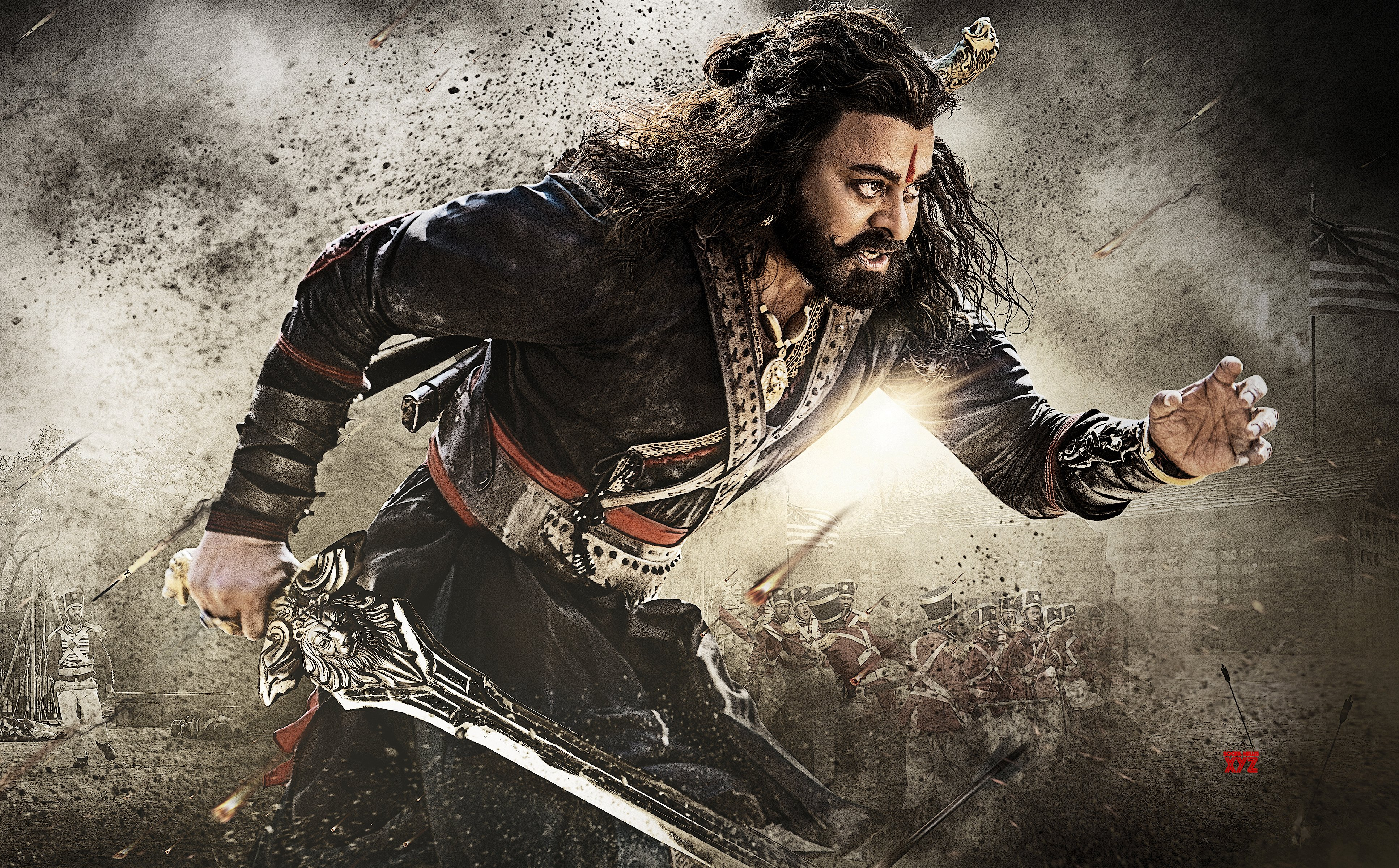 Sye Raa Narasimha Reddy movie grossed 11.5 crores with a share of 6.85 crores on Day 4 in AP/TS