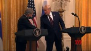 Finnish leader chides Trump during WH briefing [HD] (Video)