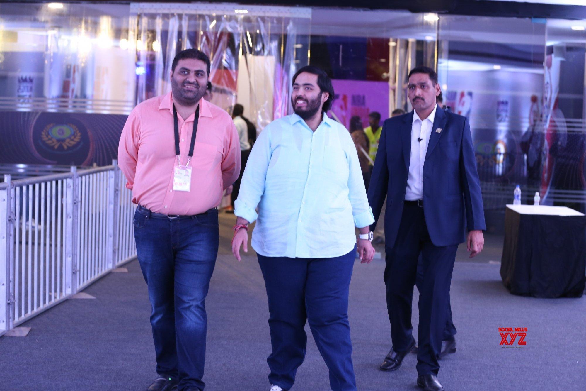Mumbai: Anant Ambani at NBA Games #Gallery