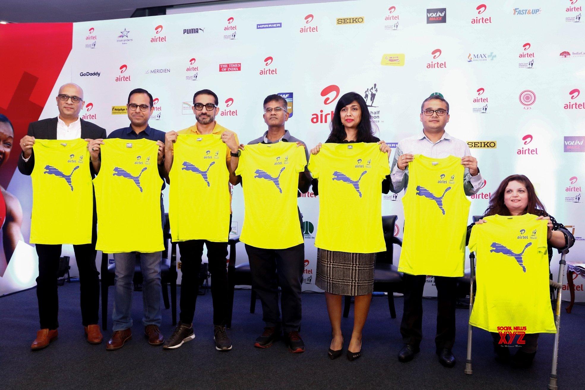 New Delhi: Delhi Half Marathon 2019 - Press conference #Gallery