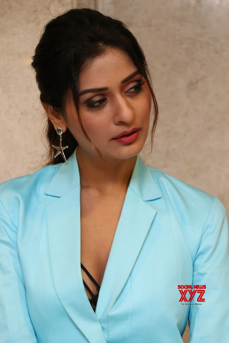 Actress Payal Rajput Hot Stills From RDX Love Movie Pre Release Event