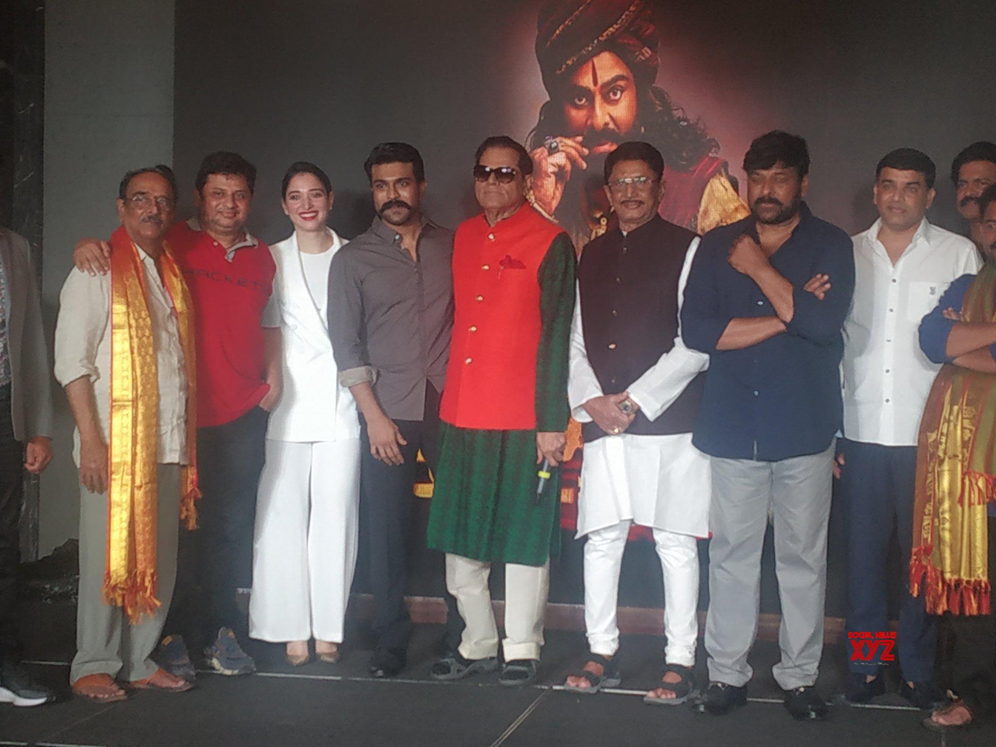 Photos: Sye Raa Narasimha Reddy Movie Team Felicitation By Kalabandhu T Subbarami Reddy