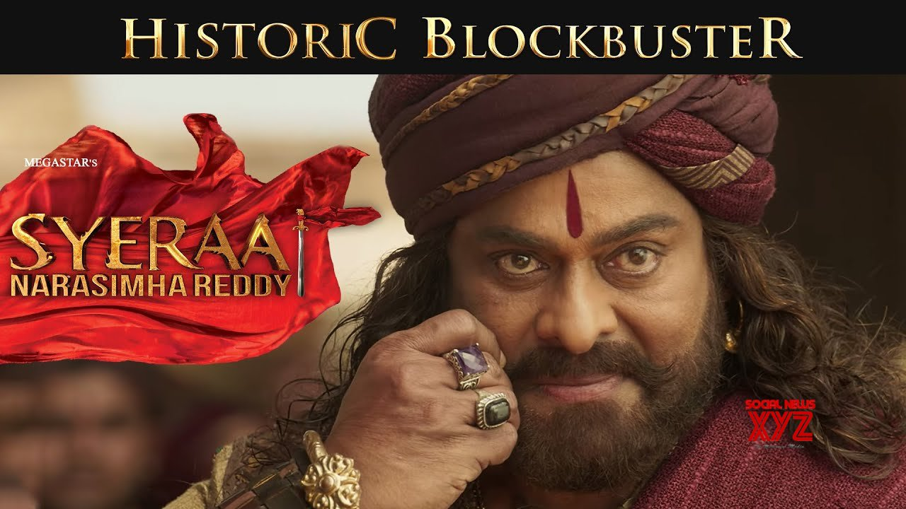 Sye Raa Narasimha Reddy movie grossed 195.8 cores in the first week