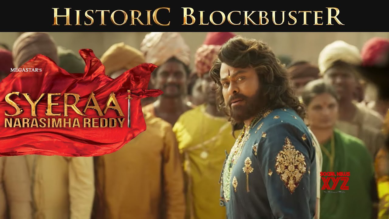 Sye Raa Narasimha Reddy movie grossed 9.8 crores with a share of 5.85 crores on Day 8 in AP/TS