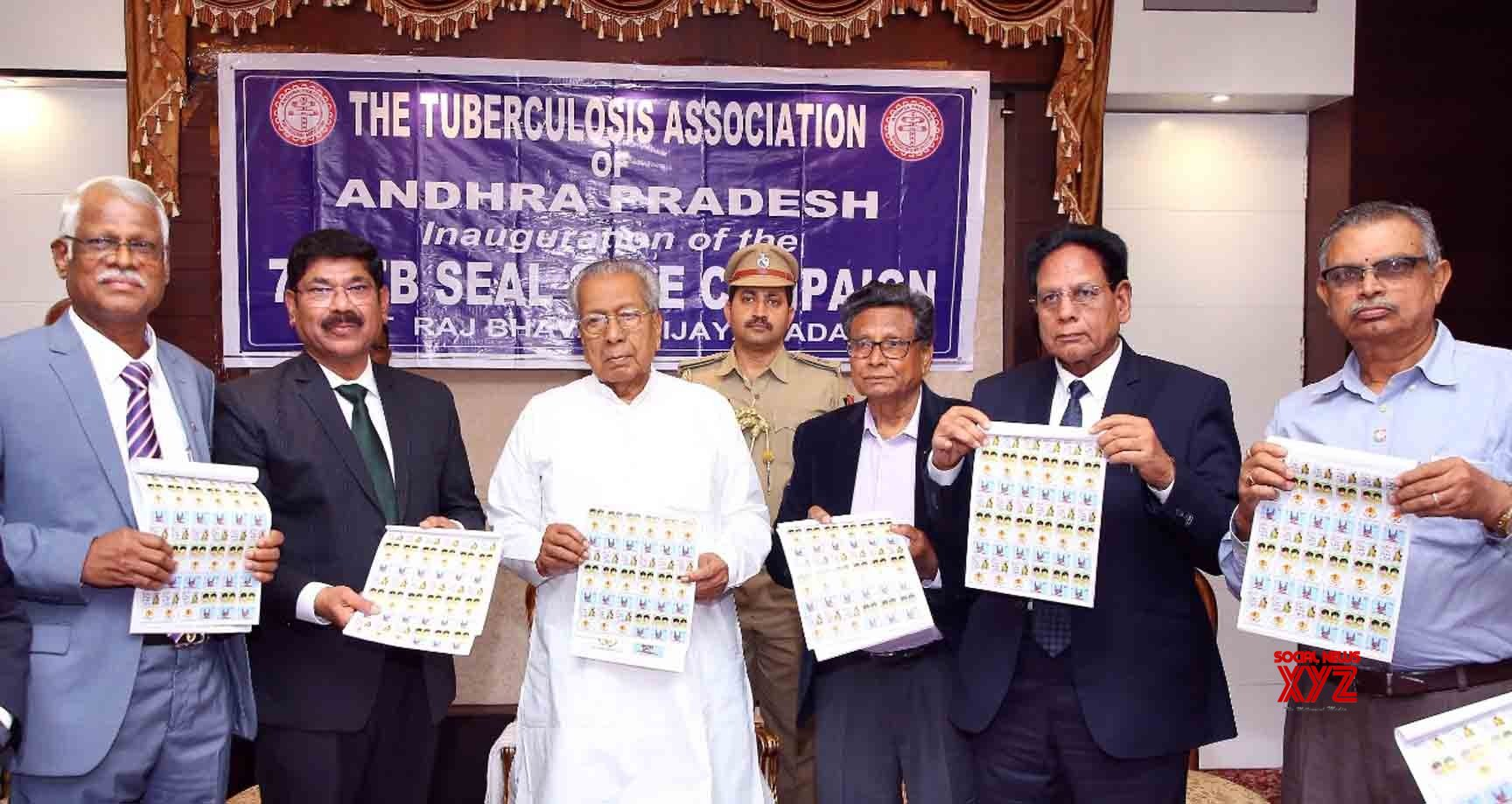 Hyderabad: Andhra Governor launches 'TB Seal Sale Campaign' #Gallery