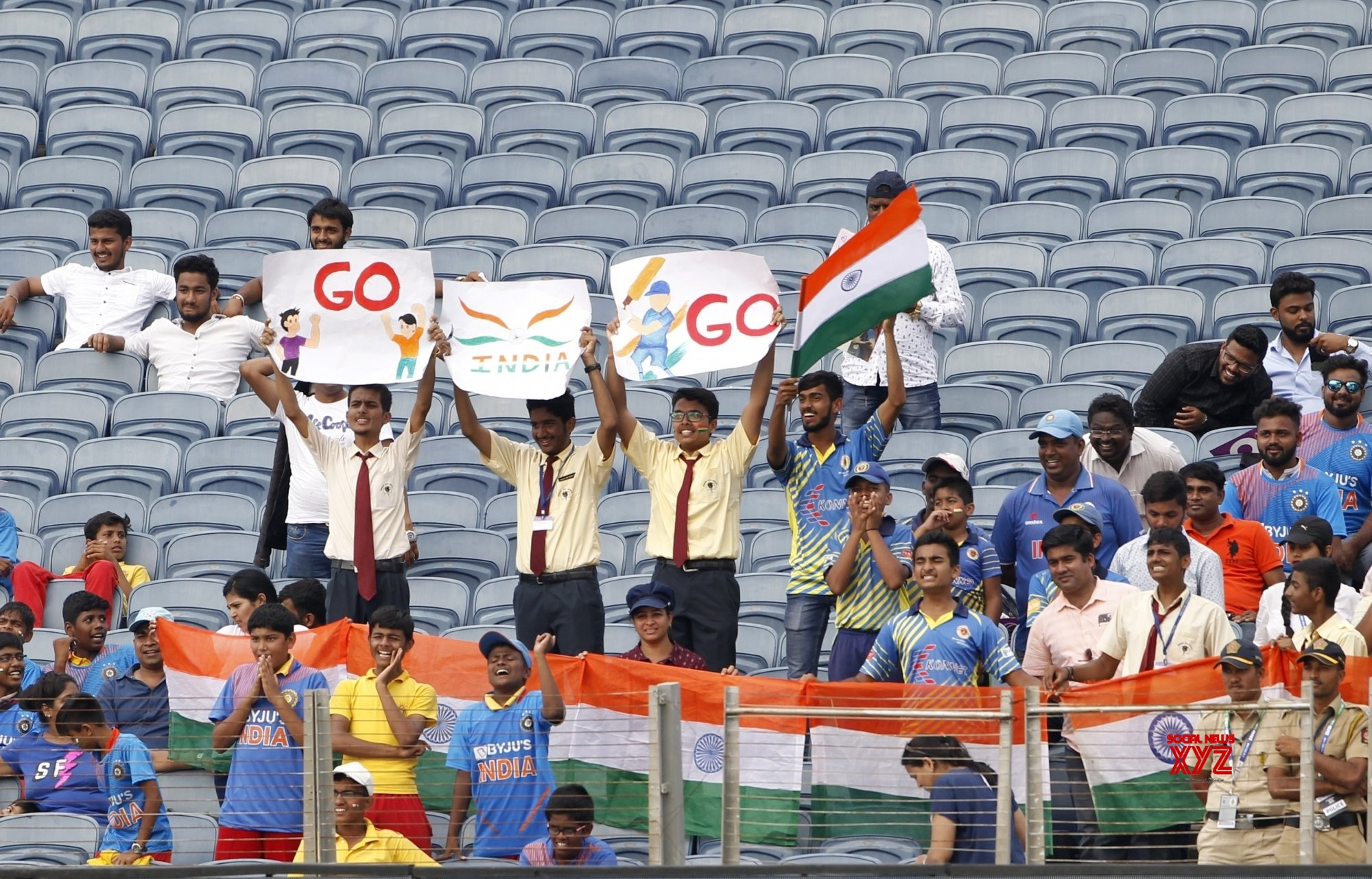 Pune: 2nd Test - India Vs South Africa - Day 2 (Batch - 23) #Gallery
