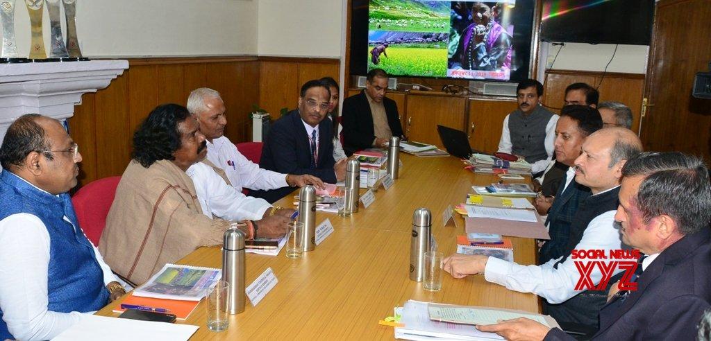 Shimla: Delegation of NCST meets Himachal Chief Secretary #Gallery