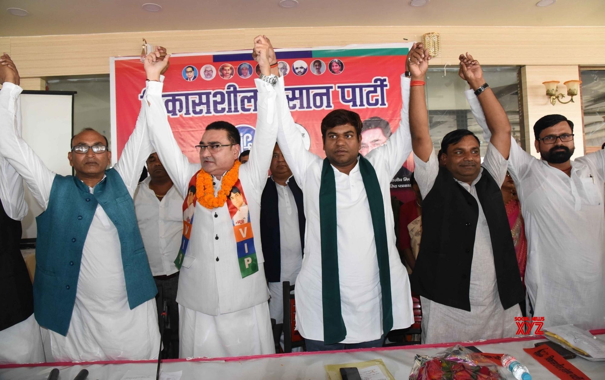 Patna: Journalist Rajeev Misra joins VIP #Gallery