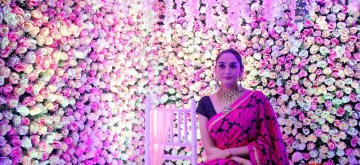 Bengaluru: Actress Ragini Dwivedi inaugurates Asia Wedding Fair 2019, in Bengaluru on Oct 11, 2019. (Photo: IANS)