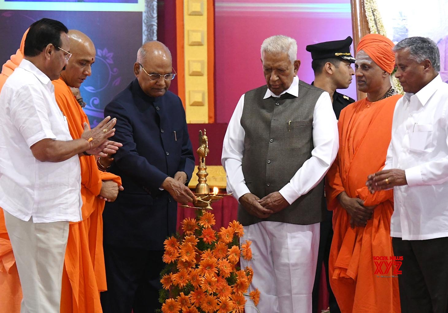 Mysuru: President Kovind inaugurates JSS Academy of Higher Education and Research new campus #Gallery