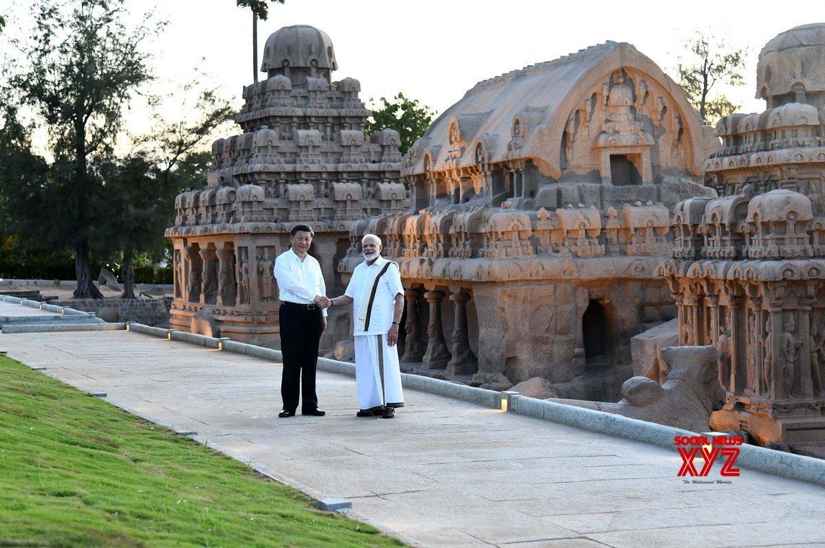 Mahabalipuram: PM Modi, Chinese President visit Pancha Rathas complex (Batch - 4) #Gallery