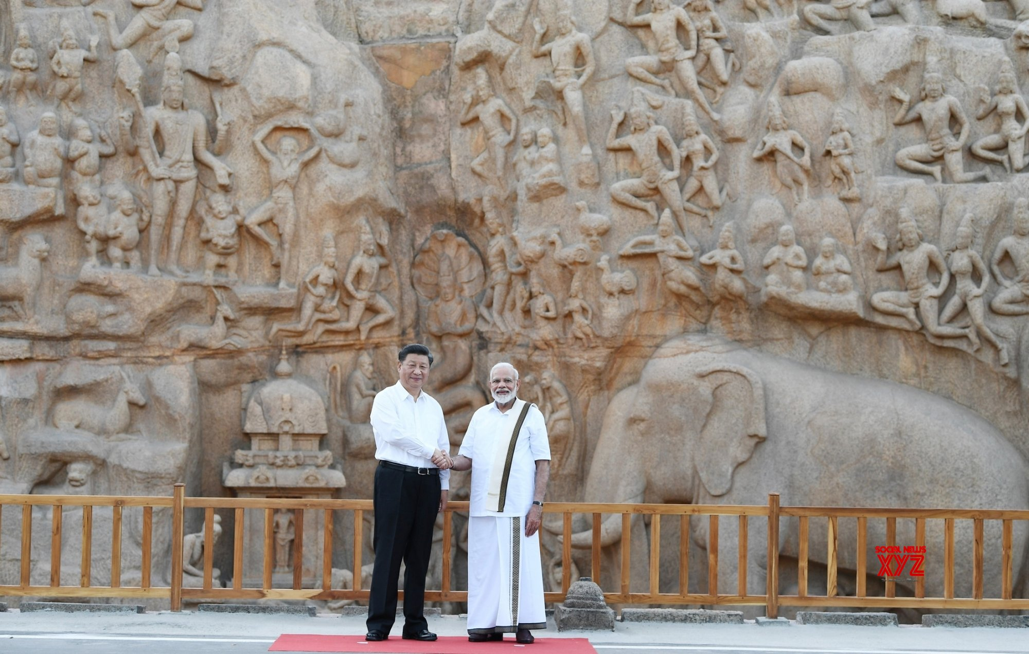 Mahabalipuram: PM Modi, Chinese President visit Pancha Rathas complex (Batch - 3) #Gallery