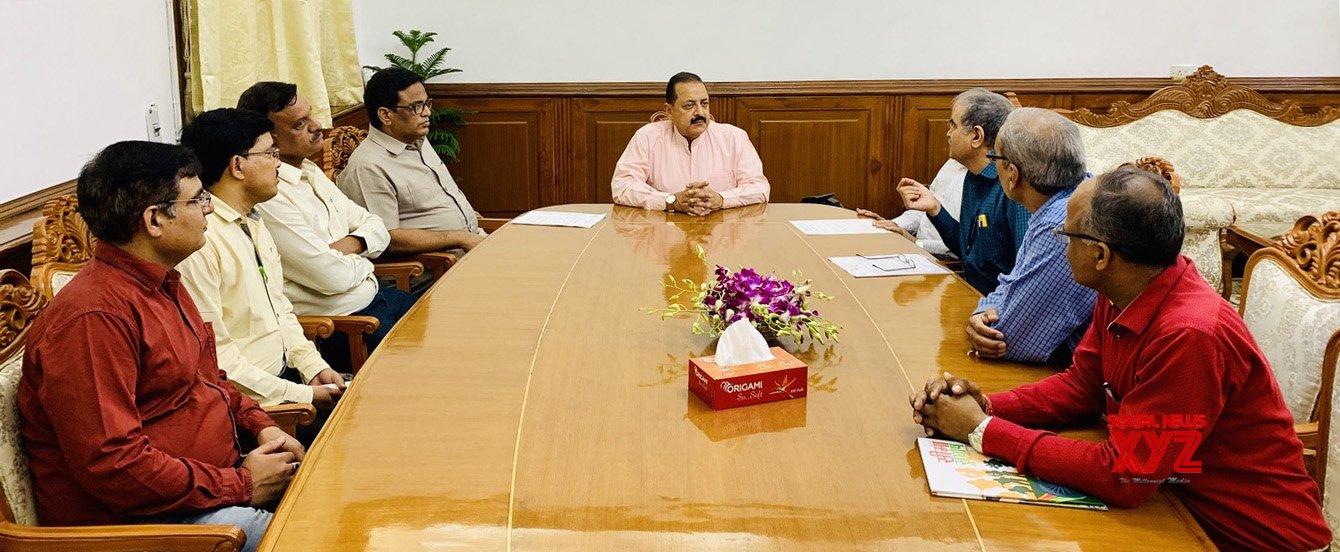 New Delhi: Gazetted Officers' meets MoS Jitendra Singh #Gallery