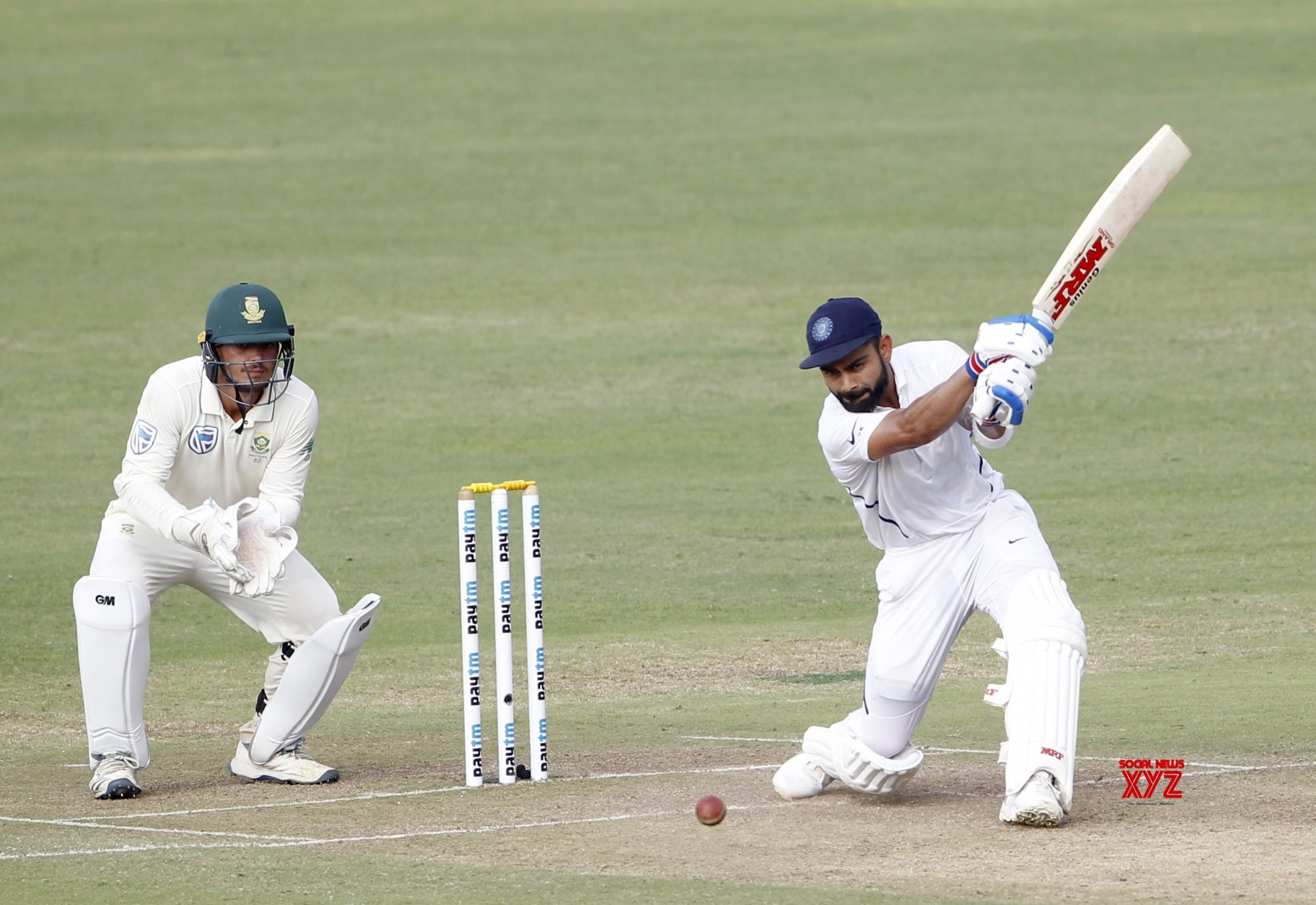 Pune: 2nd Test - India Vs South Africa - Day 2 (Batch - 18) #Gallery