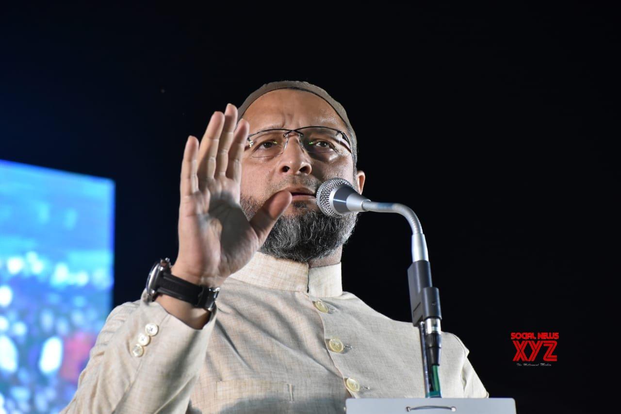 Malegaon: Asaduddin Owaisi addresses public rally ahead of Maharashtra polls #Gallery
