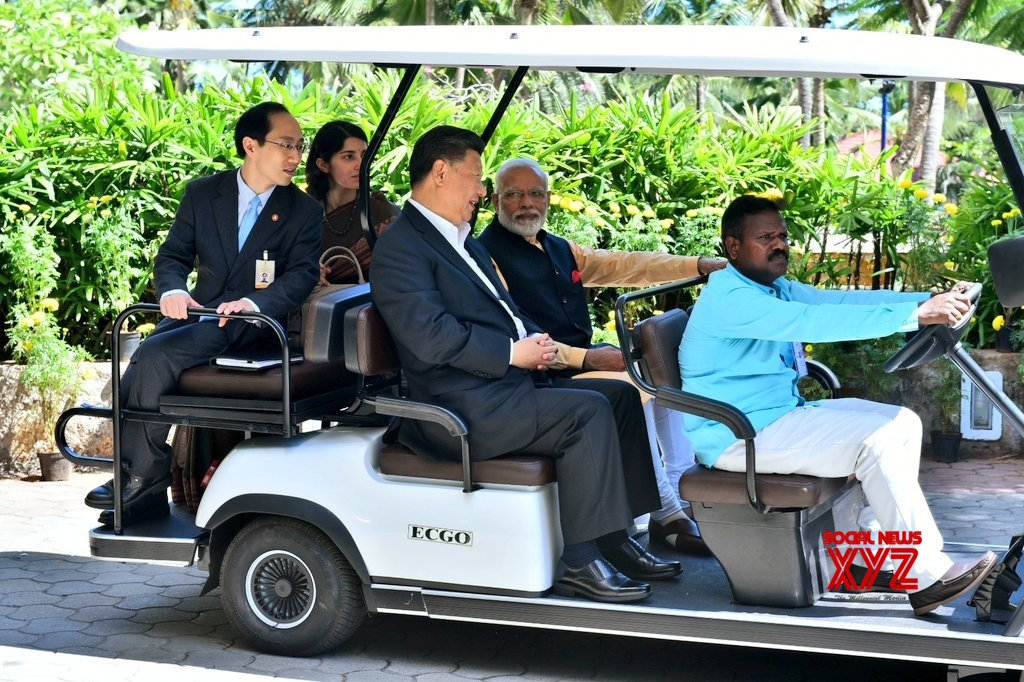 Mahabalipuram: PM Modi, Chinese President take eco - friendly ride to 'Machan' at Taj Fisherman's Cove #Gallery