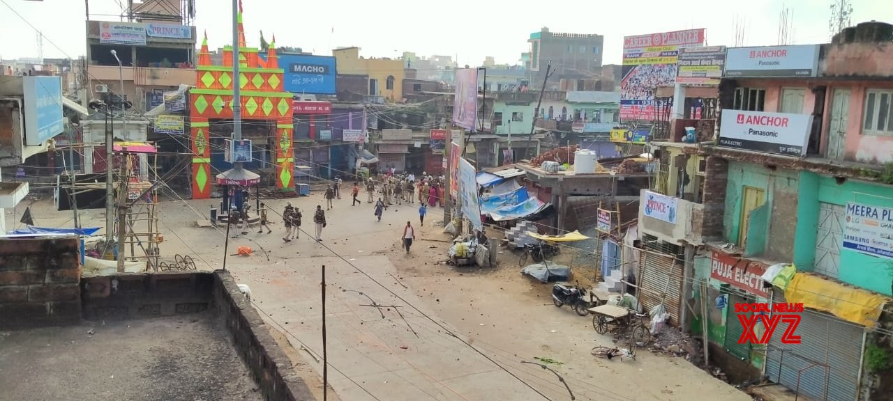 Jahanabad: Security beefed up after two groups clash #Gallery